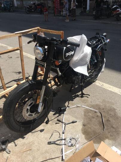 银钢拿铁复古摩托杜卡迪摩托车/欧版复古摩托车200CC摩托车可上牌 Scrambler 电喷版风冷YGF200CC发动机 晒单图