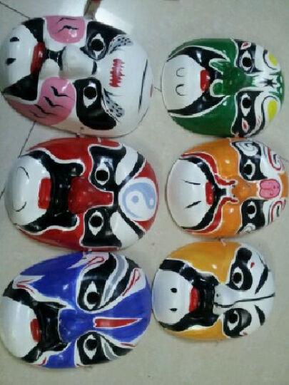 盛泉 手绘石膏纸浆面具 中式国粹 变脸道具 工艺京剧脸谱面具 葫芦大王 晒单图