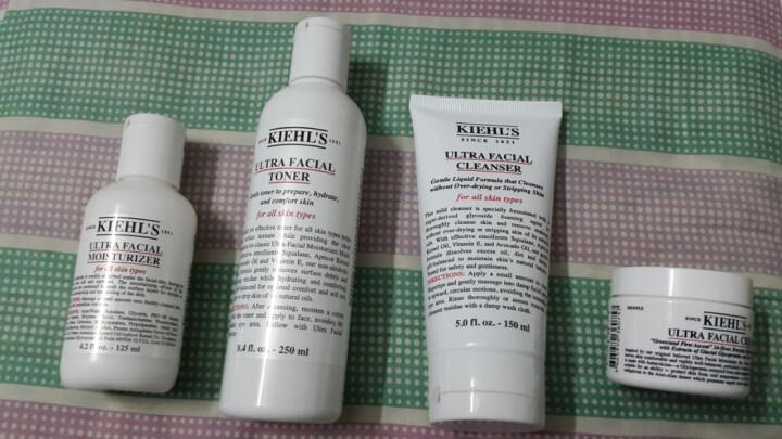 科颜氏(Kiehl's) Kiehl's科颜氏高保湿系列 小样精华爽肤水40ml*4 晒单图