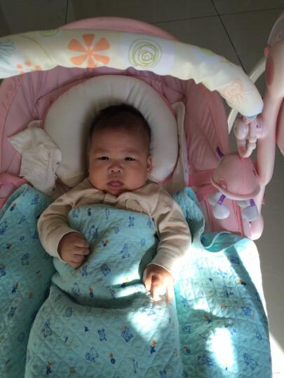 Joymaker 婴儿电动摇椅 摇篮 宝宝安抚椅 睡篮躺椅 电动安抚秋千 豪华型-粉色 晒单图