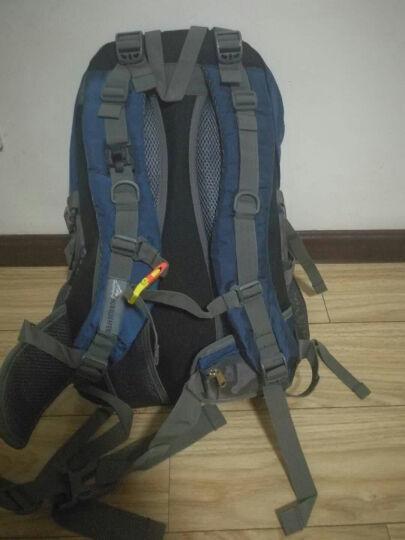 户外尖锋(HU WAI JIAN FENG) 户外旅行背包男女登山包大容多功能双肩包书包 蓝色 40L 晒单图