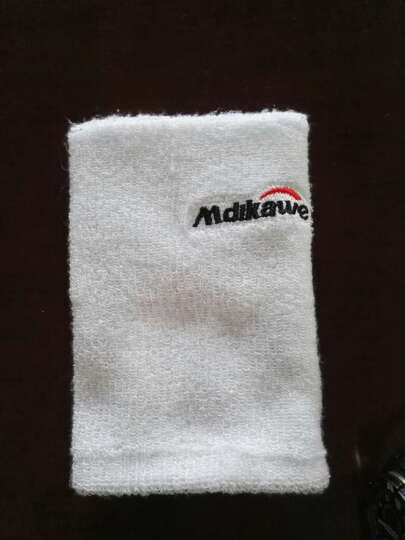 曼迪卡威夏季男女运动护肘 吸汗护臂 保暖护腕 白色 17CM 晒单图