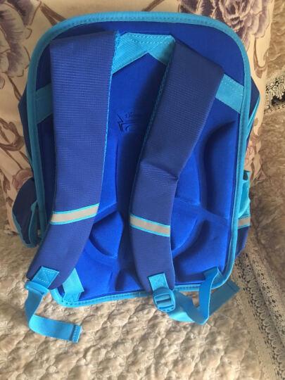 迪士尼书包   小学生书包硬壳韩版 双肩儿童书包 0051水蓝色 晒单图