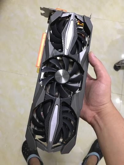 索泰(ZOTAC)GeForce GTX1060至尊Plus OC吃鸡显卡/游戏电竞台式机独立显卡 6GD5/1607-1835/8108MHz 晒单图