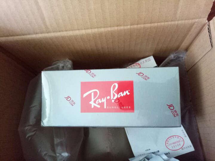 Ray-Ban 雷朋 意大利经典飞行员系列水银反光蓝色镜片镜面眼镜太阳镜 RB 3025 112/17 58mm 晒单图