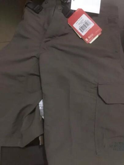 TheNorthFace北面夏季轻薄防水舒适户外男休闲短裤 CZK3 21L/绿色 34 晒单图