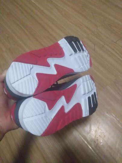 八哥(Bage)运动鞋男鞋跑步鞋冬季气垫减震慢跑鞋透气旅游鞋女 黑梅红女 37 晒单图