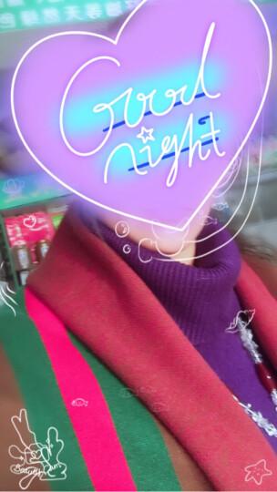 壹蔓针织衫女毛衣春秋女装蝙蝠衫披风斗篷披肩外套条纹2017春装新款潮 质量保证 均码(80-170斤都能穿) 晒单图