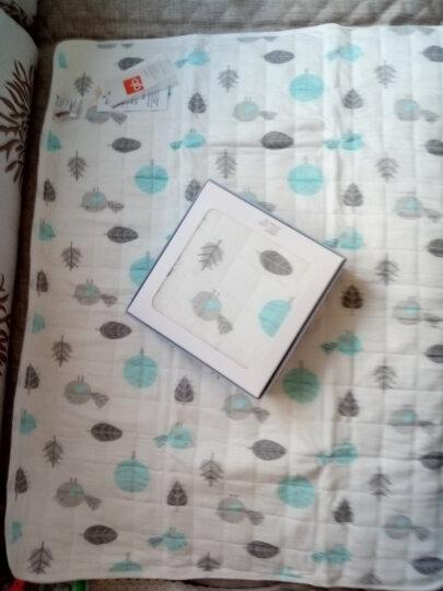 好孩子(gb) 婴儿隔尿垫巾全棉新生儿用品防水可洗床垫月经垫 宝宝防尿垫子超大号浅卡其礼盒125*65含绑带 80CM*60CM 晒单图