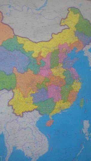 竖版中国地图挂图 2018年 精装竖版 1米1.4米 防水覆膜 商务办公挂绳挂图  晒单图