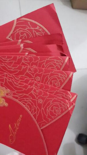 圣鹿 创意婚礼定制 个性结婚请帖 喜帖 请柬 创意 欧式 婚庆用品 QJ-009 个性定制50份起 含内页+信封+封口贴 晒单图
