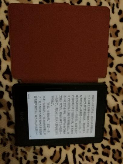 纳图森(Natusun)KV-04 适配Kindle 1499版保护套/壳 Kindle Voyage 航行专用彩绘休眠皮套 神奈川冲浪里 晒单图