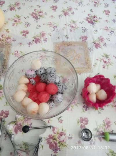 多功能水果雕花刀西瓜挖球勺  创意冰淇淋工具 懒人干果盒 晒单图