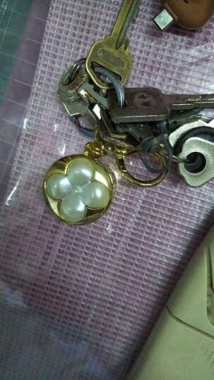 傲玛O·M女士蓝牙智能防丢钥匙扣创意礼品钥匙链女包包挂件送备用电池 AK013金色 晒单图