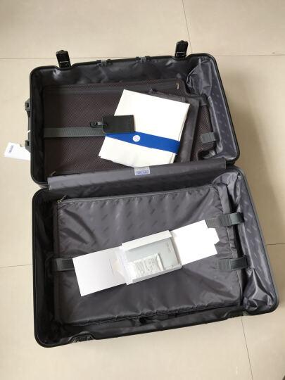 【2018新款】日默瓦rimowa全新CLASSIC系列登机拉杆行李箱铝镁合金系列 【新款21寸】银色 晒单图