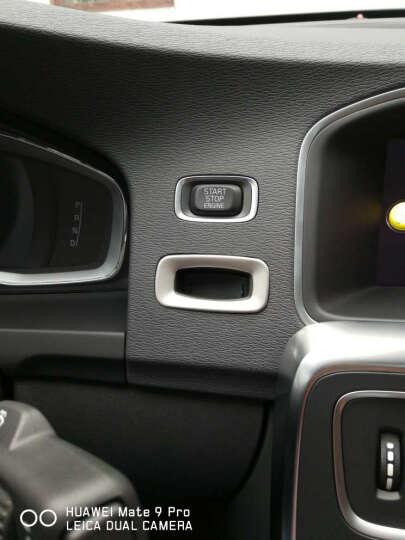 SNBLO专用于沃尔沃xc60 s60l改装钥匙孔面板装饰框s60v60钥匙贴 11 17款V60原装款钥匙孔贴 晒单图
