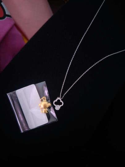 绳奇珠宝 足金黄金吊坠 女款3D硬金猴鸡项链 生肖印钞鸡猴本命年宝宝首饰男士送礼 图二款 印钞金鸡 金重1.11-1.20g 晒单图