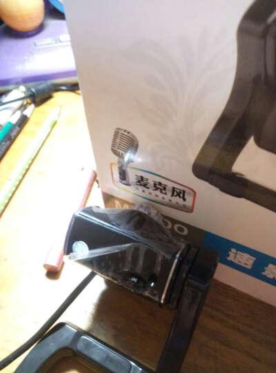 蓝色妖姬(BLUELOVER) 摄像头电脑台式机高清网络视频内置麦克风USBM2200黑 晒单图