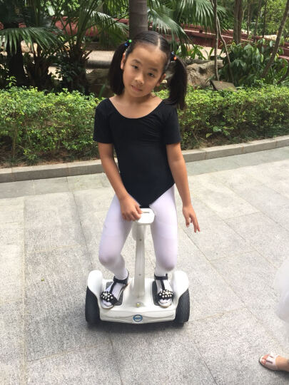 Airwheel 爱尔威坐立平衡车 两轮体感车双轮电动儿童扭扭车男女思维车 S8Mini白色 晒单图
