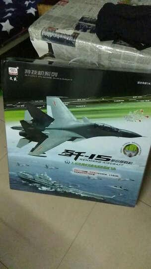 文盛(wensheng) 大型固定翼遥控飞机战斗机滑翔机无人机航模礼品玩具 智能陀螺仪(自平衡系统)控制四通道J10蓝 晒单图