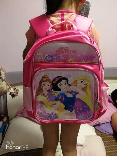 迪士尼(Disney)BP6346A 公主可爱小学生书包女/1-3年级玫红色 晒单图