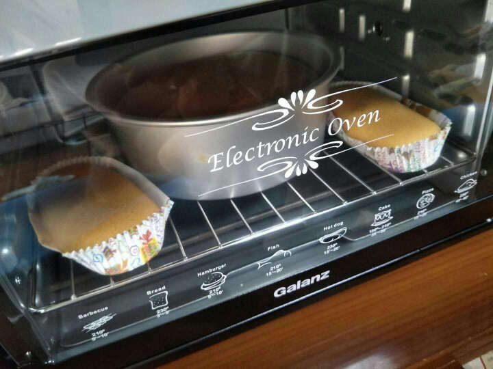 格兰仕(Galanz)家用电烤箱30升 多功能 旋转烤叉 KWS1530X-H7R 晒单图
