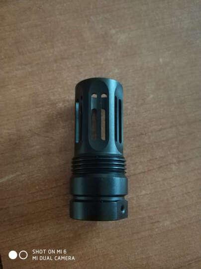 锦明8代下供弹M4玩具枪金属消音火帽器可调节NERF玩具专用装饰金属配件仿真模型 骑士帽 晒单图