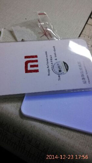沃琪 手机钢化膜钢化玻璃膜纤薄高清手机防爆保护膜贴膜 适用于小米2/2S 第三代2.5D弧边钢化玻璃膜 晒单图