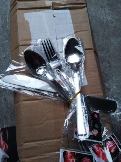 国风 不锈钢西餐具 餐刀餐叉勺子 刀叉勺四件套 晒单图