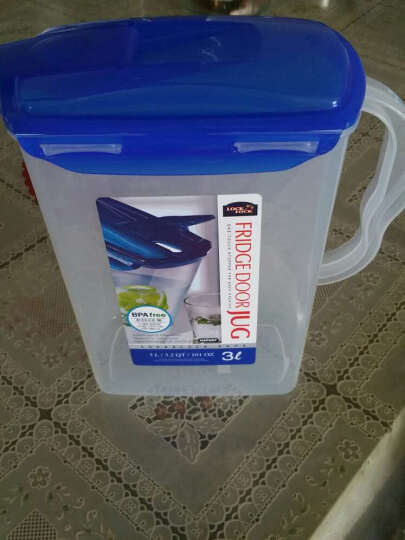 乐扣乐扣(LOCK&LOCK) 乐扣乐扣大容量水壶水杯塑料水杯凉水壶冷水壶果汁壶 3L 晒单图