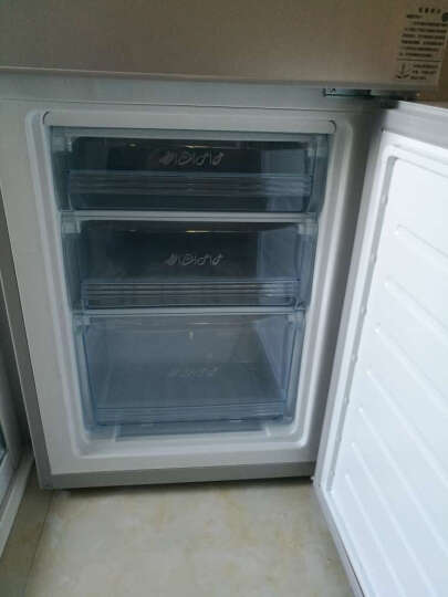 帝度 DIQUA BCD-180Y 180升 两门冰箱 节能保鲜静音(亮银横纹) 晒单图