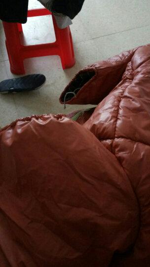 pu仿皮冬季保暖挡风被加绒法兰绒电瓶踏板摩托车护膝防风被防风护腿电动自行车挡风被 浅棕衔缝pu款 晒单图