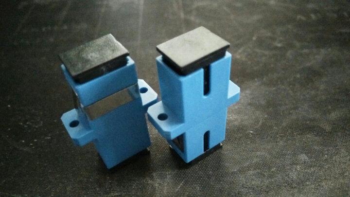 丰应子(Fengyingzi) 单双工光纤耦合器sc/fc/st/lc头法兰盘光纤适配器 MPO光纤跳线法兰耦合器 100个/袋 晒单图