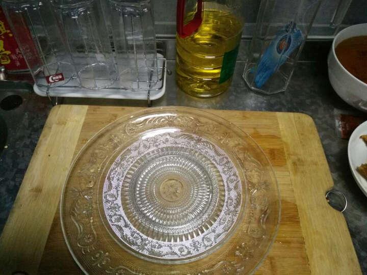 樱霓 透明玻璃盘子玻璃碗家用菜盘西餐具水果盘碟子糖果盘零食盘珍珠果盘干果盘餐盘玻璃果盘 9B-珍珠果碗 晒单图