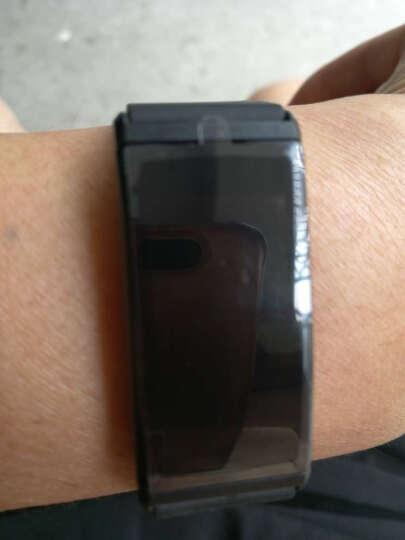智能手环 心率血压血氧睡眠监测男女运动彩屏手环计步器微信内容显示来电提醒华为三星苹果通用 蓝色 晒单图