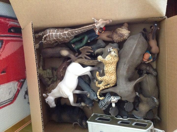 德国思乐Schleich仿真动物迷你模型玩具野生动物系列猩猩猴子等动物玩具孩子礼物成年礼物 S14715公山魈 晒单图
