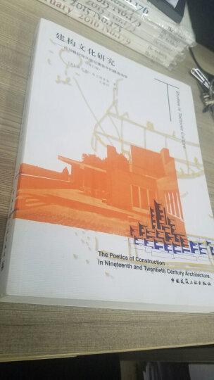 建构文化研究:论19世纪和20世纪建筑中的建造诗学(修订版) 晒单图