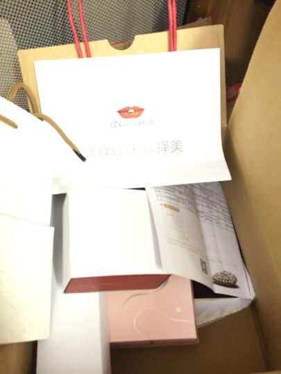 京润 宠爱淡水珍珠手链女款 强光泽节日礼物 白色 S925银扣 8-9mm 18cm+3cm 晒单图