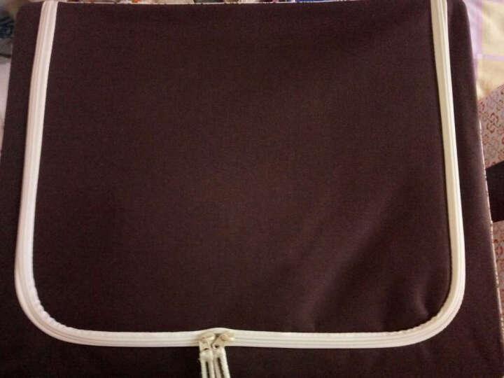 百草园 牛津布三面可视收纳箱 衣服杂物整理箱储物箱(60L+46L) 2个装 咖啡色 晒单图