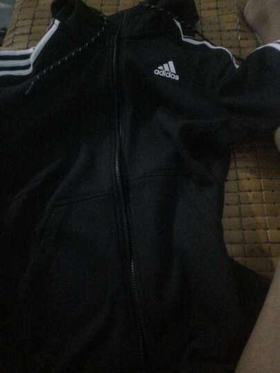 Adidas阿迪达斯男装夹克2019秋冬新款运动服时尚休闲舒适轻便百搭外套S98786 ED3738黑色潮流百搭 S 晒单图
