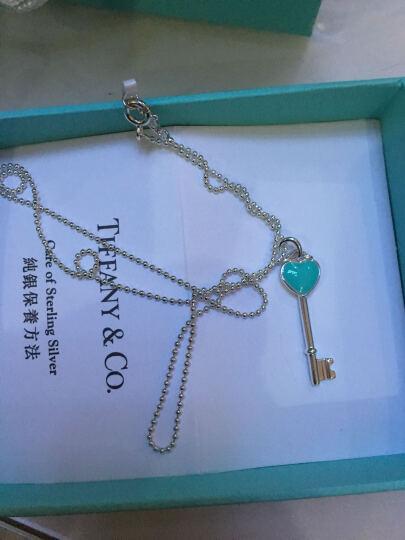 【京东秒杀】蒂芙尼(Tiffany & Co.) Blue 琺瑯面迷你心形钥匙吊坠项链  晒单图