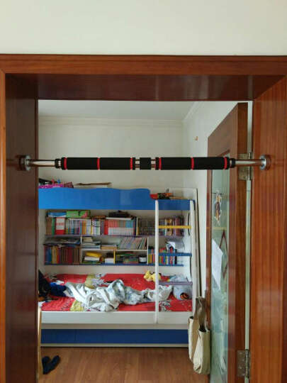 Ocim家用单杠 引体向上器室内单杠墙体门框健身器材门上单双杠 短款/62-100cm 晒单图