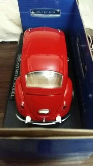美致1:24系列静态合金车模  轿车跑车越野车正版授权收藏版经典车模儿童礼物 1比26福特蓝色 晒单图