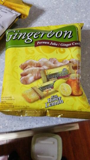 印尼进口特产Gingerbon津格伴原味老姜糖500g姜汁软糖果零食 蜂蜜柠檬味x4包 晒单图