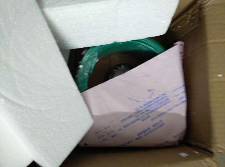 JYS金胜电线电缆ZB-BV2.5平方ZR阻燃国标纯铜芯线家装线单芯线单股硬线空调插座照明线 绿色 50米 晒单图