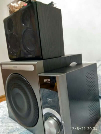 漫步者(EDIFIER) C1 2.1声道+独立功放 多媒体音箱 音响 电脑音箱 黑色 晒单图