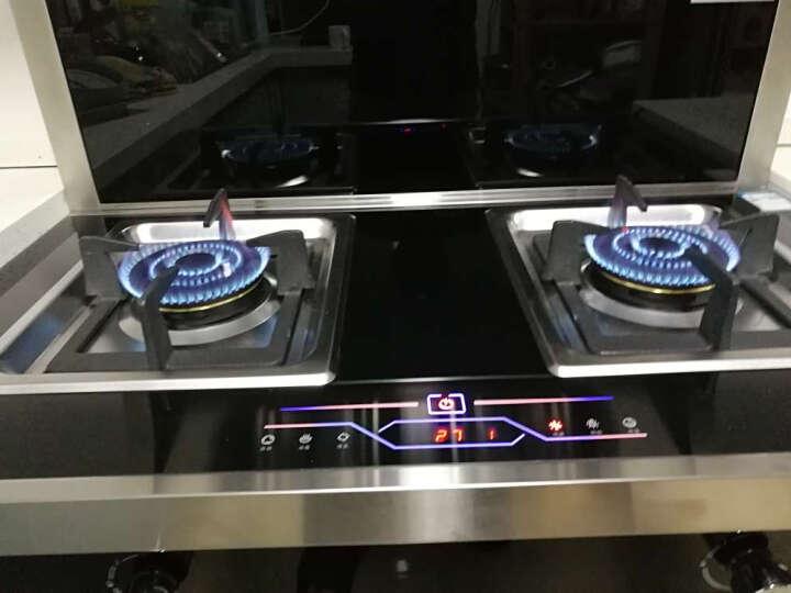 TCL 集成灶 侧吸式抽油烟机烟机燃气灶具消毒柜套装JC90系列 JC90-A05 灌装液化气(20Y) 晒单图