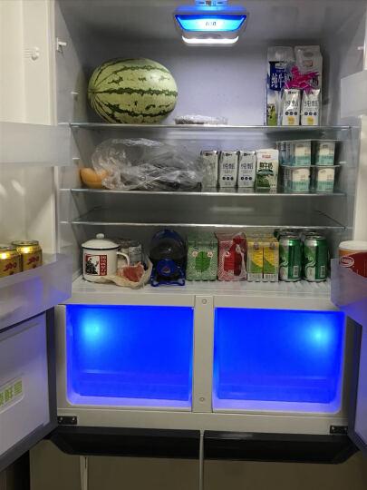 康佳(KONKA)458升 十字对开冰箱 电脑温控 静音保鲜 玻璃面板 冷藏室自动除霜BCD-458EBX4S 晒单图