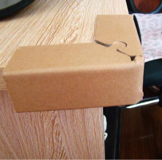 【1个包邮】纸护条 纸护角条 包角 家具护条 纸箱护条 纸包角 纸护角 护角 20x4x4cm 晒单图