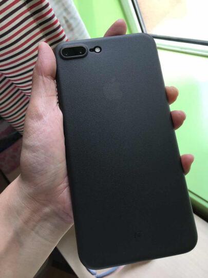 网易严选 网易智造 iPhone7/8Plus手机壳 保护壳手机套全包防摔磨砂软壳男女 超薄0.4mm 黑 晒单图